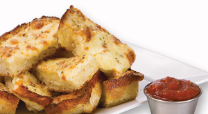 cloverleaf menu item - square bread