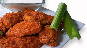 cloverleaf menu item - mild chicken wings