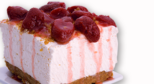 cloverleaf menu item - cheese cake