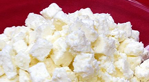 cloverleaf menu item - feta cheese