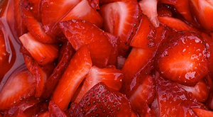 cloverleaf menu item - strawberries