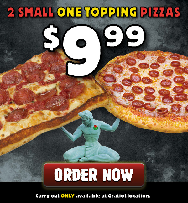 1 topping special deal