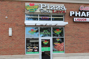 cloverleaf pizza 21728 Harper Rd. St. Clair Shores