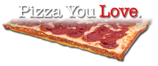 pizza you love with large square deep dish pizza